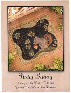 click here to view larger image of Nutty Buddy (Punchneedle)