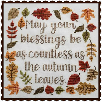 click here to view larger image of Autumn Blessing (chart)