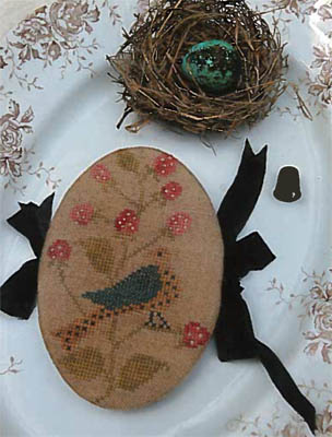 click here to view larger image of Feathered Nest Pin Book (chart)