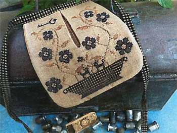 click here to view larger image of Stone Flowers Sewing Pocket (chart)