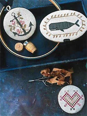 click here to view larger image of Nantucket Sewing Set (chart)