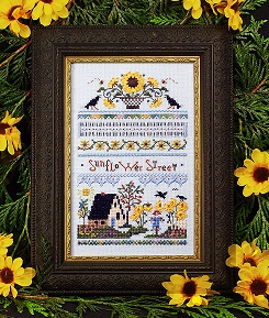 click here to view larger image of Sunflower Street Sampler  (chart)