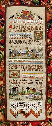 click here to view larger image of Thanksgiving Sampler Leaflet (chart)