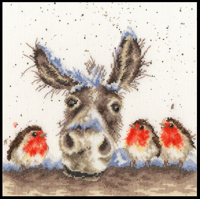 click here to view larger image of Christmas Donkey (chart)