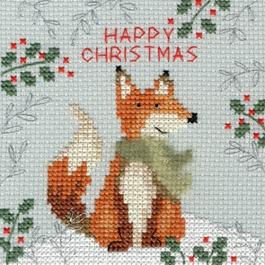 click here to view larger image of Christmas Fox (chart)