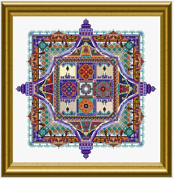 click here to view larger image of Night Desert Tent Mandala (chart)