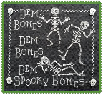 click here to view larger image of Dem Bones (chart)