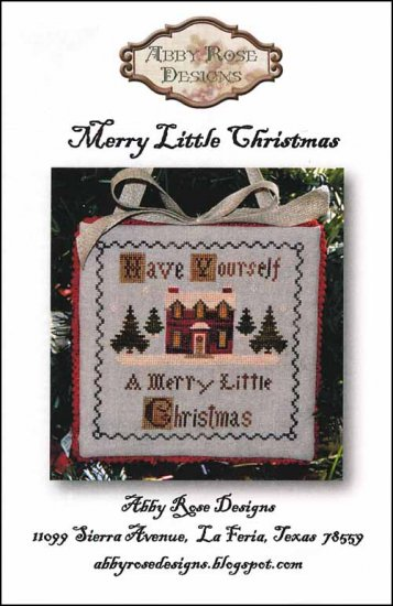 click here to view larger image of Merry Little Christmas (chart)