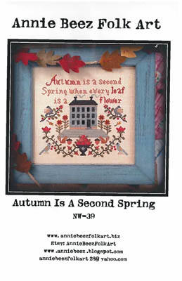 click here to view larger image of Autumn Is A Second Spring (chart)