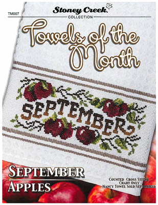 click here to view larger image of Towels Of The Month - September (chart)