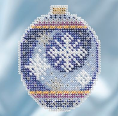 click here to view larger image of Midnight Snowfall (counted cross stitch kit)