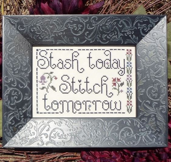 click here to view larger image of Stash Today Stitch Tomorrow (chart)