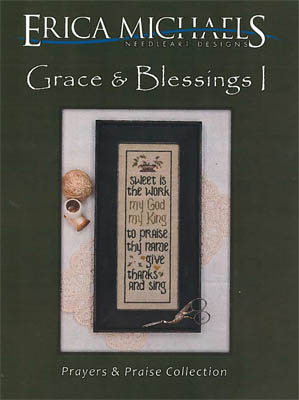 click here to view larger image of Grace & Blessings I (chart)