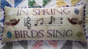 click here to view larger image of Birds Sing (chart)