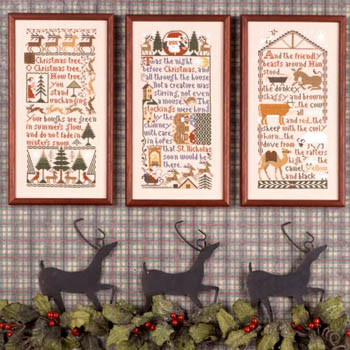 click here to view larger image of Christmas Samplers (chart)