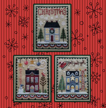 click here to view larger image of Christmas House Trio (chart)