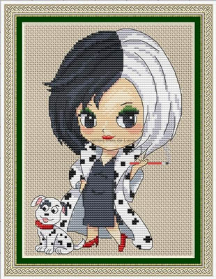 click here to view larger image of Cruella (chart)