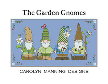 click here to view larger image of Garden Gnomes (chart)