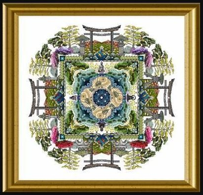 click here to view larger image of Japanese Moss Garden Mandala (chart)