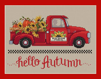 click here to view larger image of Hello Autumn (chart)