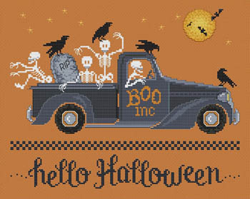 click here to view larger image of Hello Halloween (chart)