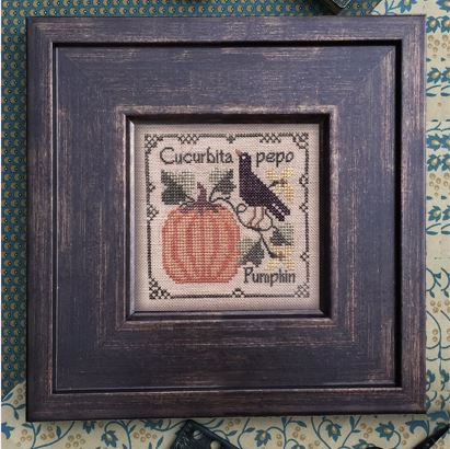click here to view larger image of Botanical Stitches - Pumpkin (chart)