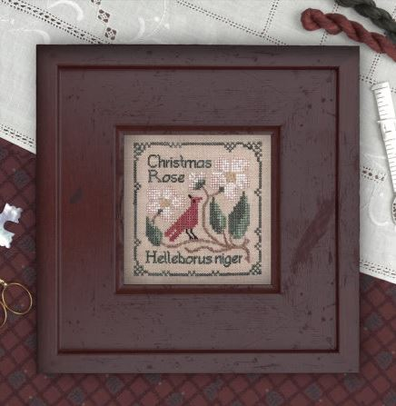 click here to view larger image of Botanical Stitches - Christmas Rose (chart)