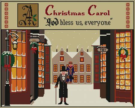 click here to view larger image of Christmas Carol (chart)