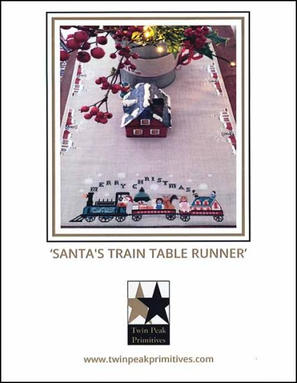 click here to view larger image of Santa's Train Table Runner (chart)