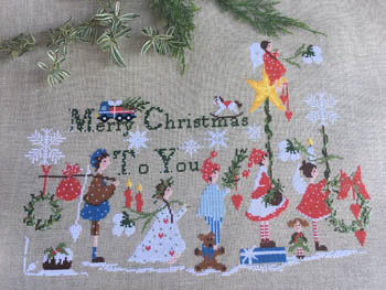 click here to view larger image of Merry Christmas To You (chart)