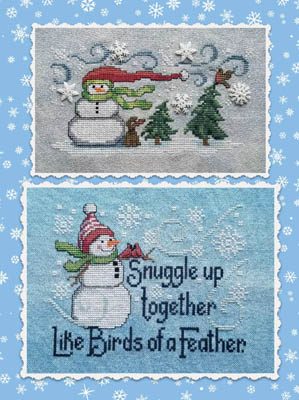 click here to view larger image of Frosty Friends (chart)