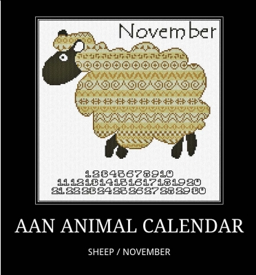 click here to view larger image of November Sheep (chart)