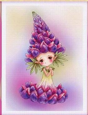 click here to view larger image of Lupine Sprite (chart)