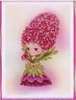 click here to view larger image of Hyacinth Sprite - (Mitzi Sato-Wiuff) (chart)