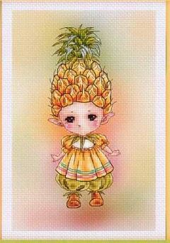 click here to view larger image of Pineapple Sprite (chart)