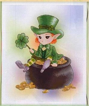 click here to view larger image of Leprechaun - (Mitzi Sato-Wiuff) (chart)
