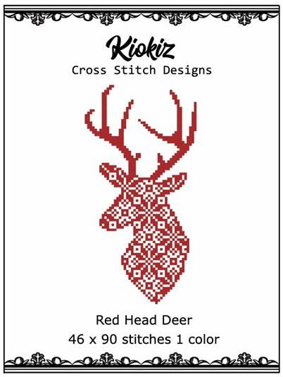 click here to view larger image of Red Head Deer (chart)