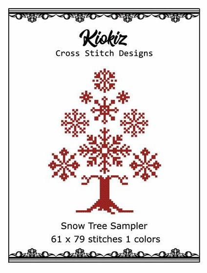 click here to view larger image of Snowflake Tree (chart)
