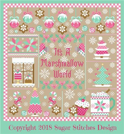 click here to view larger image of It's A Marshmallow World (chart)