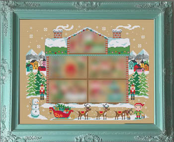 click here to view larger image of Santa's House Part 1 (chart)