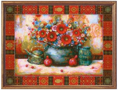 click here to view larger image of Still Life after N Japaridze's Painting (hand painted canvas)