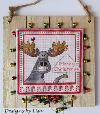 click here to view larger image of Christmas Moose (chart)