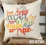 click here to view larger image of Hygge Leaf (counted cross stitch kit)