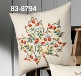 click here to view larger image of Leaf with Rose Hip (counted cross stitch kit)