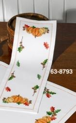click here to view larger image of Pumpkins - Table Runner (None Selected)