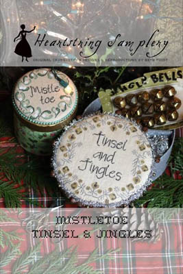 click here to view larger image of Mistletoe, Tinsel and Jingles (chart)