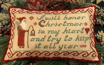 click here to view larger image of I Will Honor Christmas (chart)