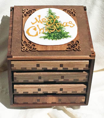 click here to view larger image of Boxed Treasures - Christmas (chart)