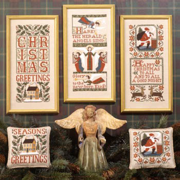 click here to view larger image of Christmas Samplers II (chart)