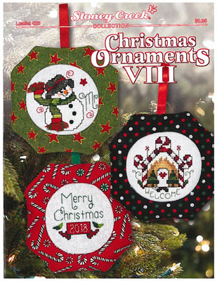 click here to view larger image of Christmas Ornaments VIII (chart)